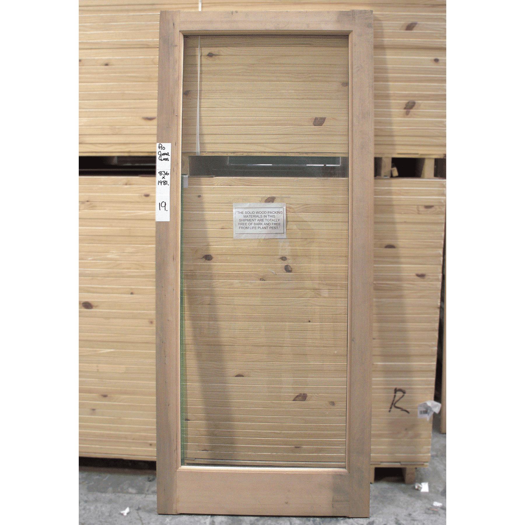 clearance door 19
