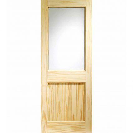 XL Joinery 2XG Pine External Door - 1981mm-x-762mm-x-44mm