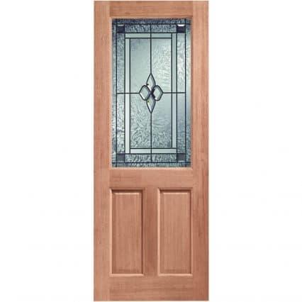 2XG Double Glazed External Door with Coleridge Glass - 1981mm-x-762mm-x-44mm