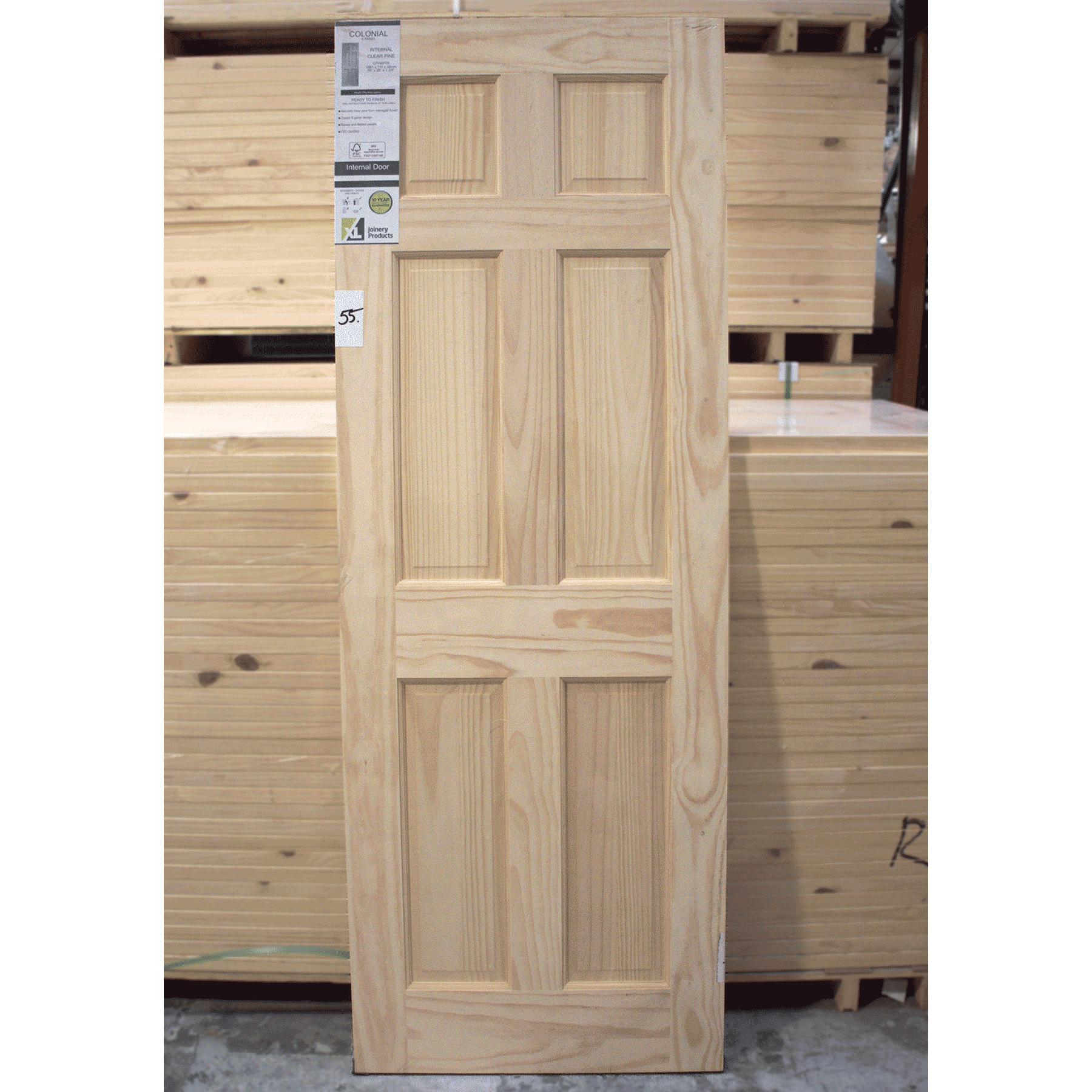 clearance door 55