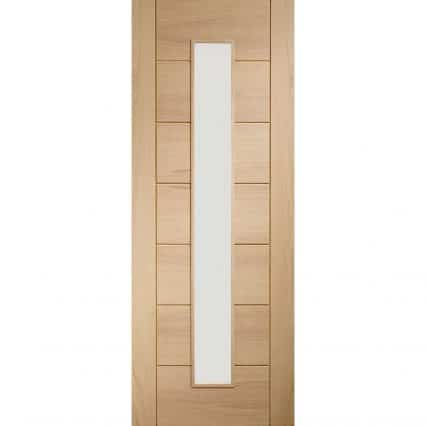 Palermo 1 Light Internal Glazed Door - 1981mm-x-610mm-x-35mm