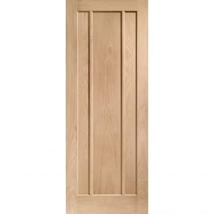 Pre-Finished Worcester 3 Panel Oak Door - 1981mm-x-533mm-x-35mm