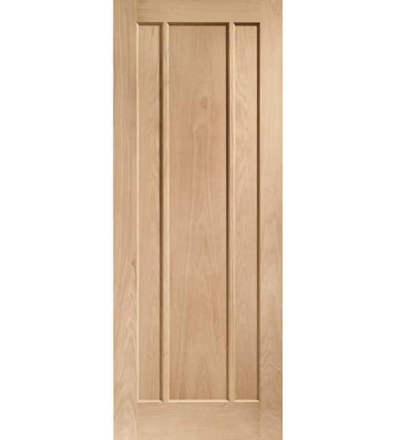 Worcester 3 Panel Oak Door