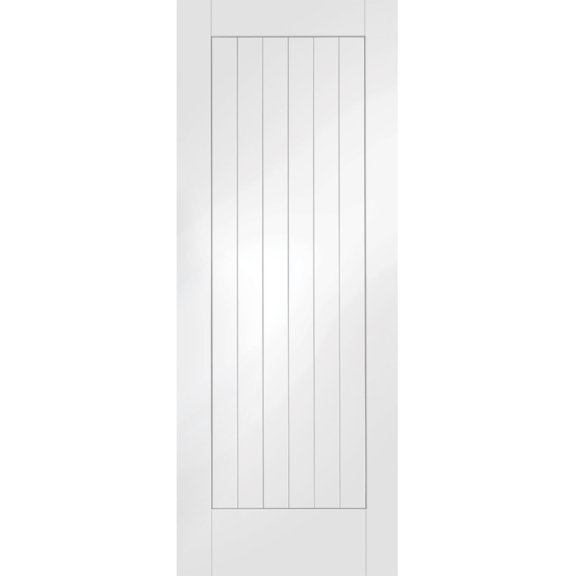 Suffolk White Primed Internal Door