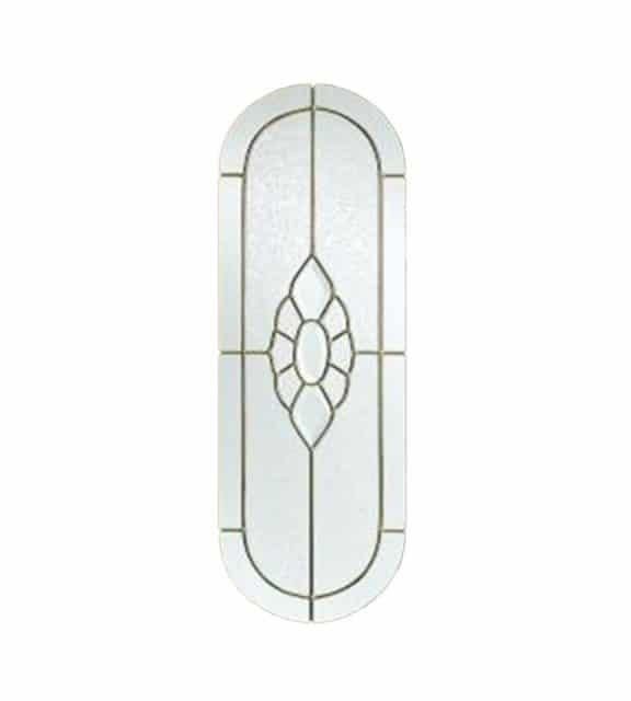 acacia hardwood external door closeup glass glazing