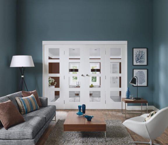 Severo Internal Door with Clear Glass