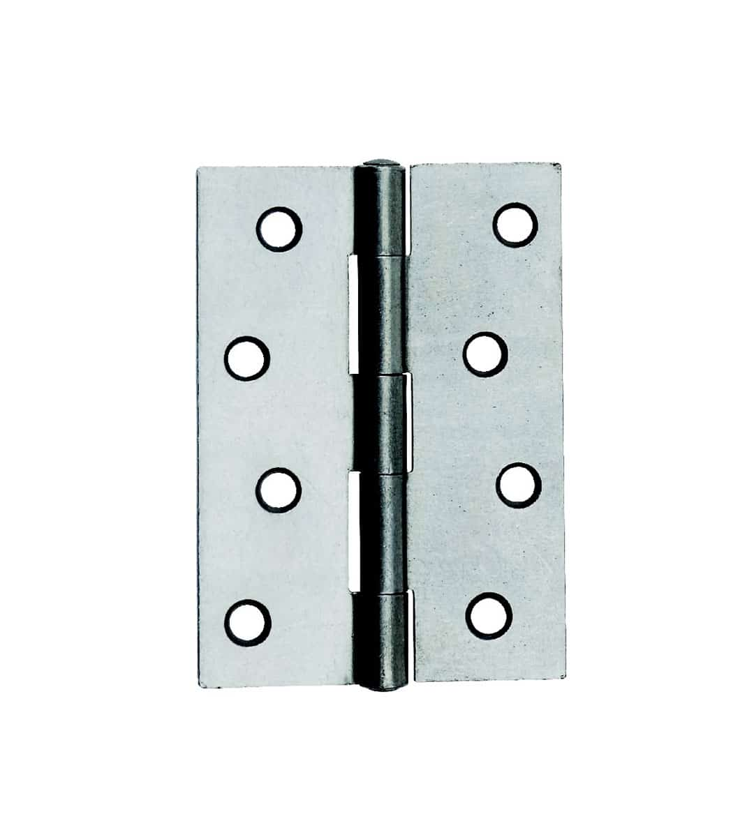 Steel Butt Hinge 100mm Satin Chrome