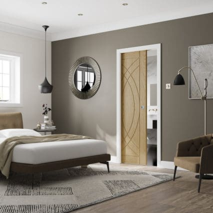 XL Joinery Pocket Door Kit For Partition Walls - POCKET-30 Full Size: Kit for 1981x762x35mm Doors