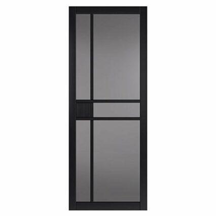JB Kind City Black Tinted Glass Internal Door - tinted - 1981mm-x-762mm-x-35mm-2