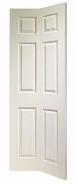 Internal White Primed Louvre Door