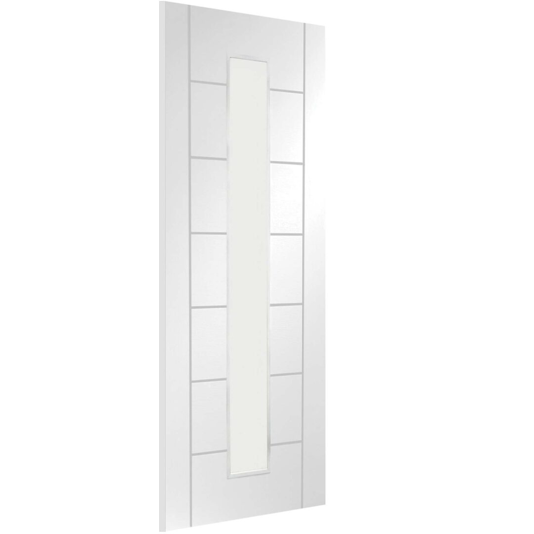 XL Joinery Palermo 1 Light Internal Clear Glass White Door