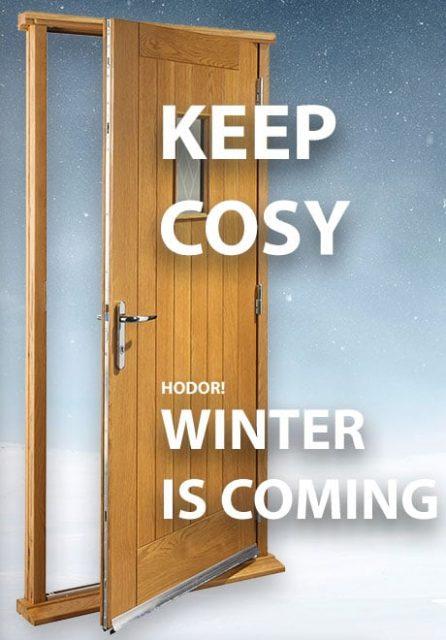 Warm Doors for Winter