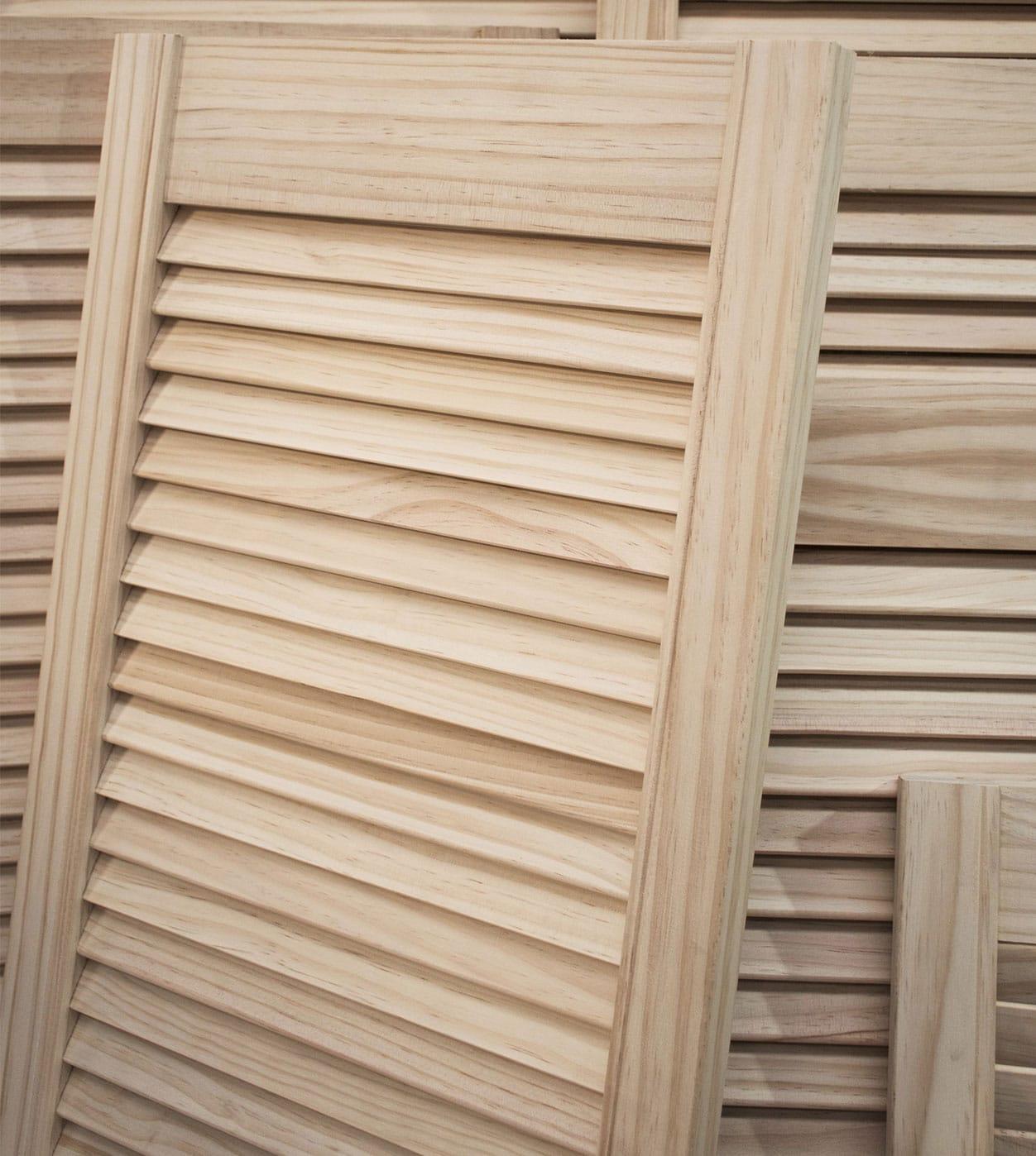 Louvre Cupboard Doors