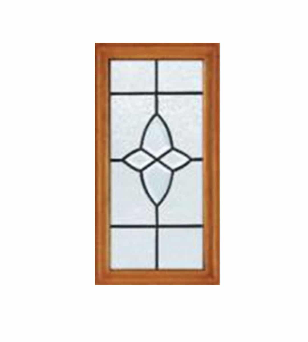 m&t cottage hardwood exterior door closeup glass glazing