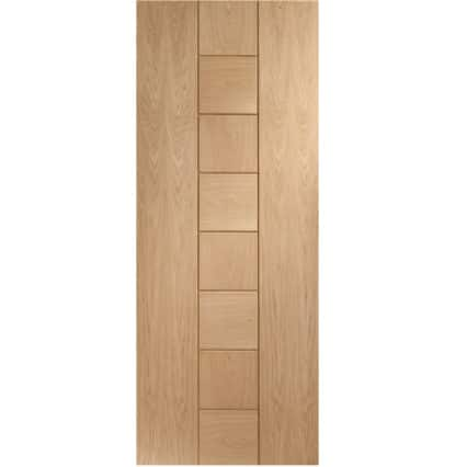 XL Joinery Messina Pre-Finished Internal Oak Door - 1981 x 838 x 35mm (33
