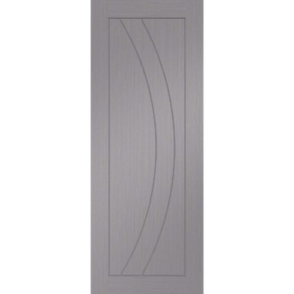 XL Joinery Salerno Pre-Finished Light Grey Fire Door 🔥 - 1981mm-x-762mm-x-35mm