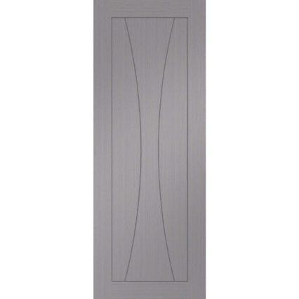 XL Joinery Verona Pre-Finished Light Grey Door - 1981mm-x-686mm-x-35mm