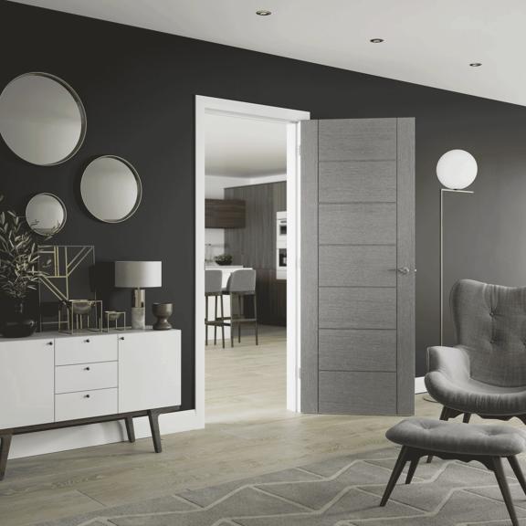 Palermo Pre-Finished Light Grey internal room design