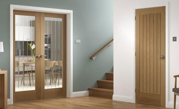 Internal Oak Doors Glazed and Non Glazed