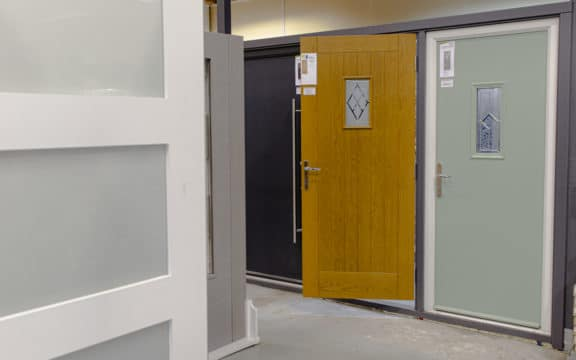 shawfield timber glasgow doors on display