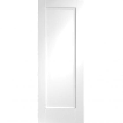 Pattern 10 Internal White Primed Fire Door - 1981mm-x-686mm-x-44mm