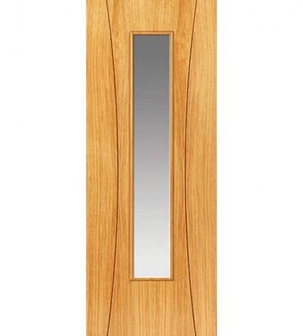 Arcos Pre-Finished Glazed Internal Door - 1981mm-x-686mm-x-35mm