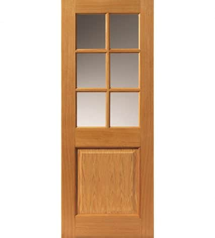 Arden Pre-Finished 2 Panel Glazed Internal Door - 1981mm-x-762mm-x-35mm