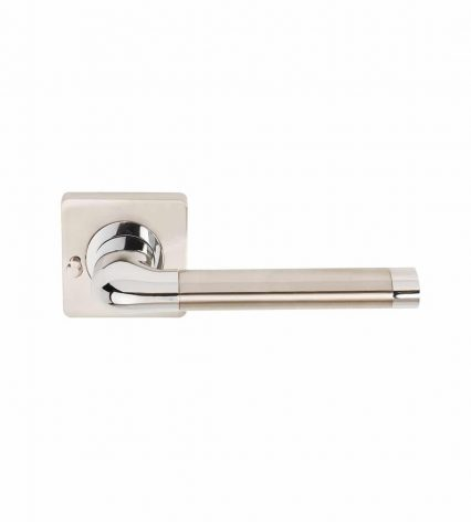 Argo Door Handle on Square Rose - privacy