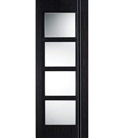 Ash Grey Zanzibar Internal Glazed Door - 1981mm-x-686mm-x-35mm