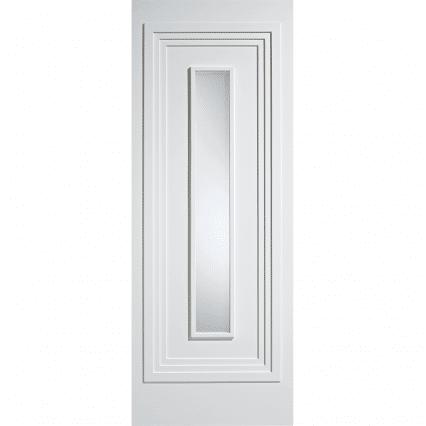 Atlanta White Obscure Glazed Internal Door - 1981mm-x-838mm-x-35mm