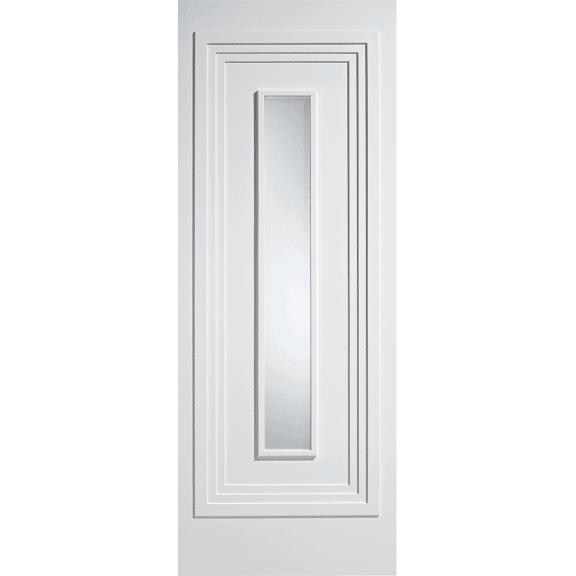 Atlanta White Obscure Glazed Internal Door