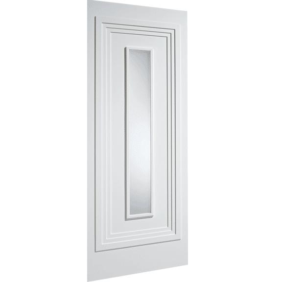Atlanta White Obscure Glazed Interior Door