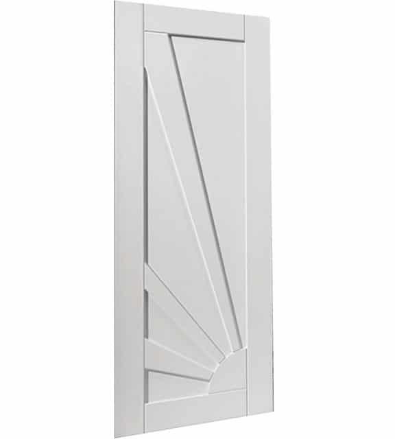 aurora white interior door