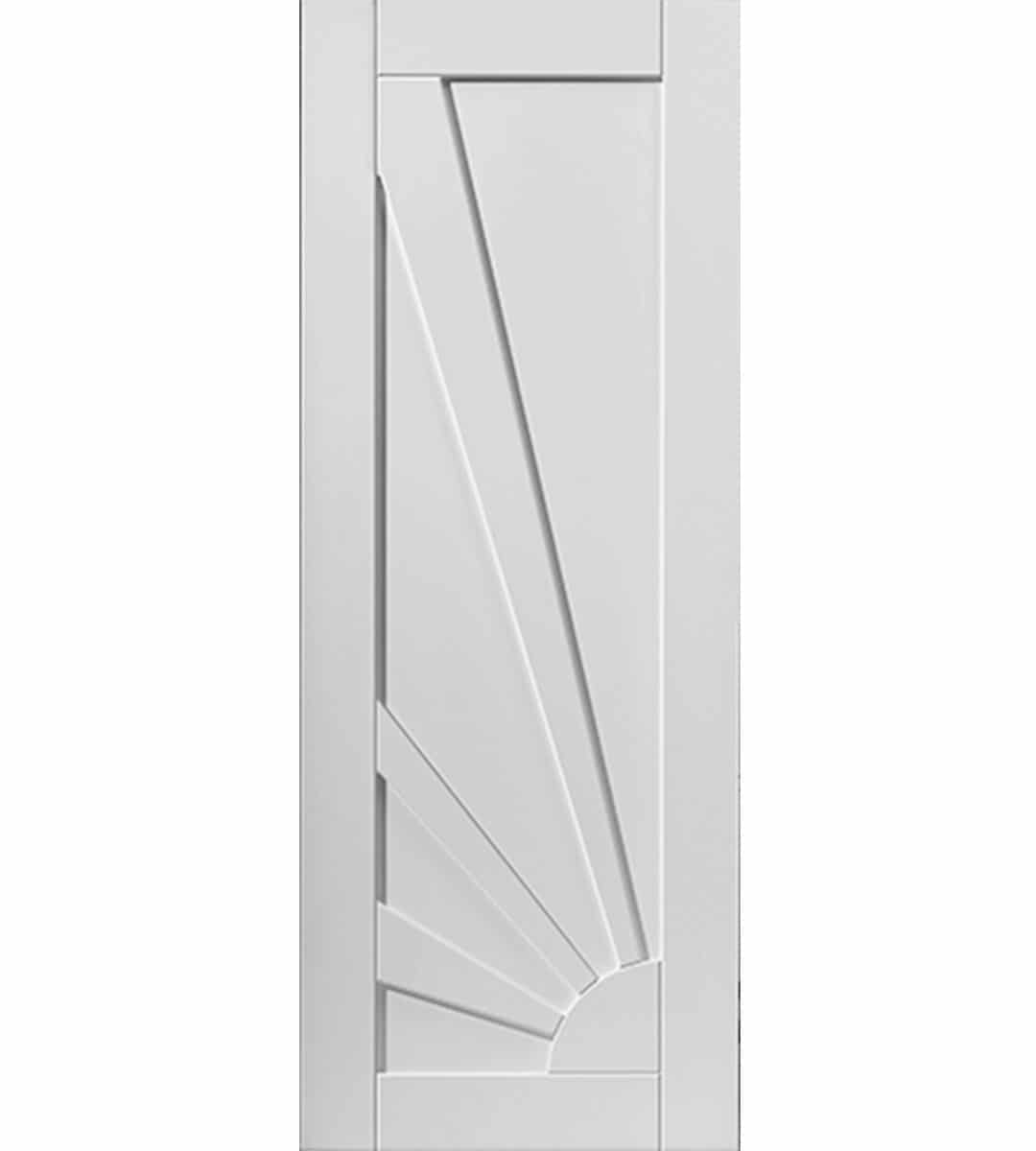 aurora white internal door