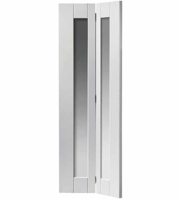 axis interior white bifolding door