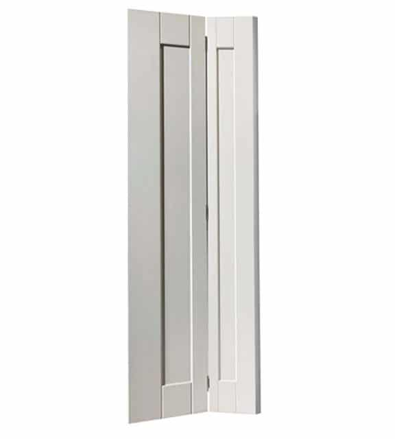 axis internal white bifold door