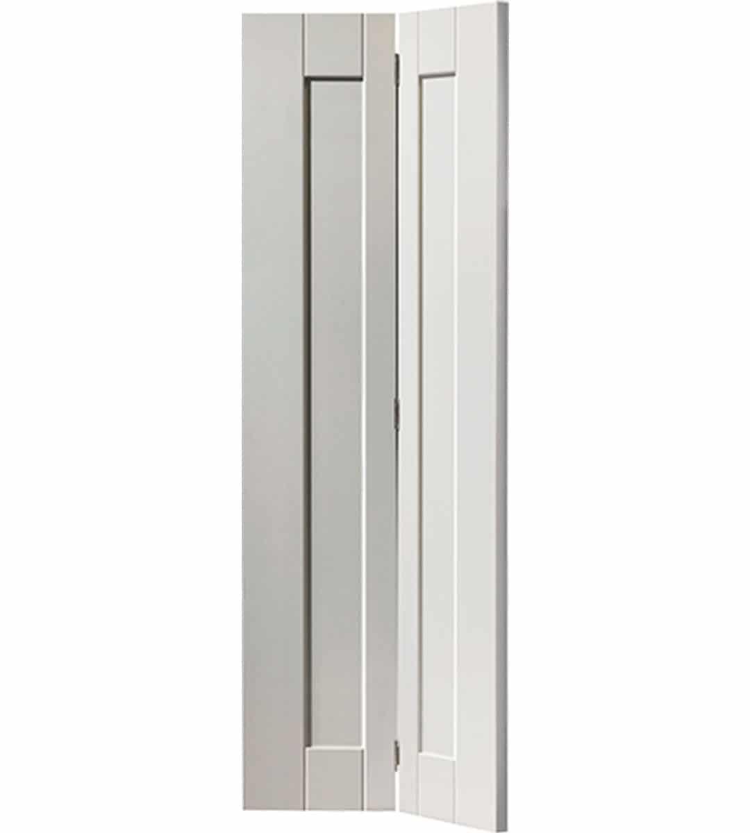 axis interior white bifold door