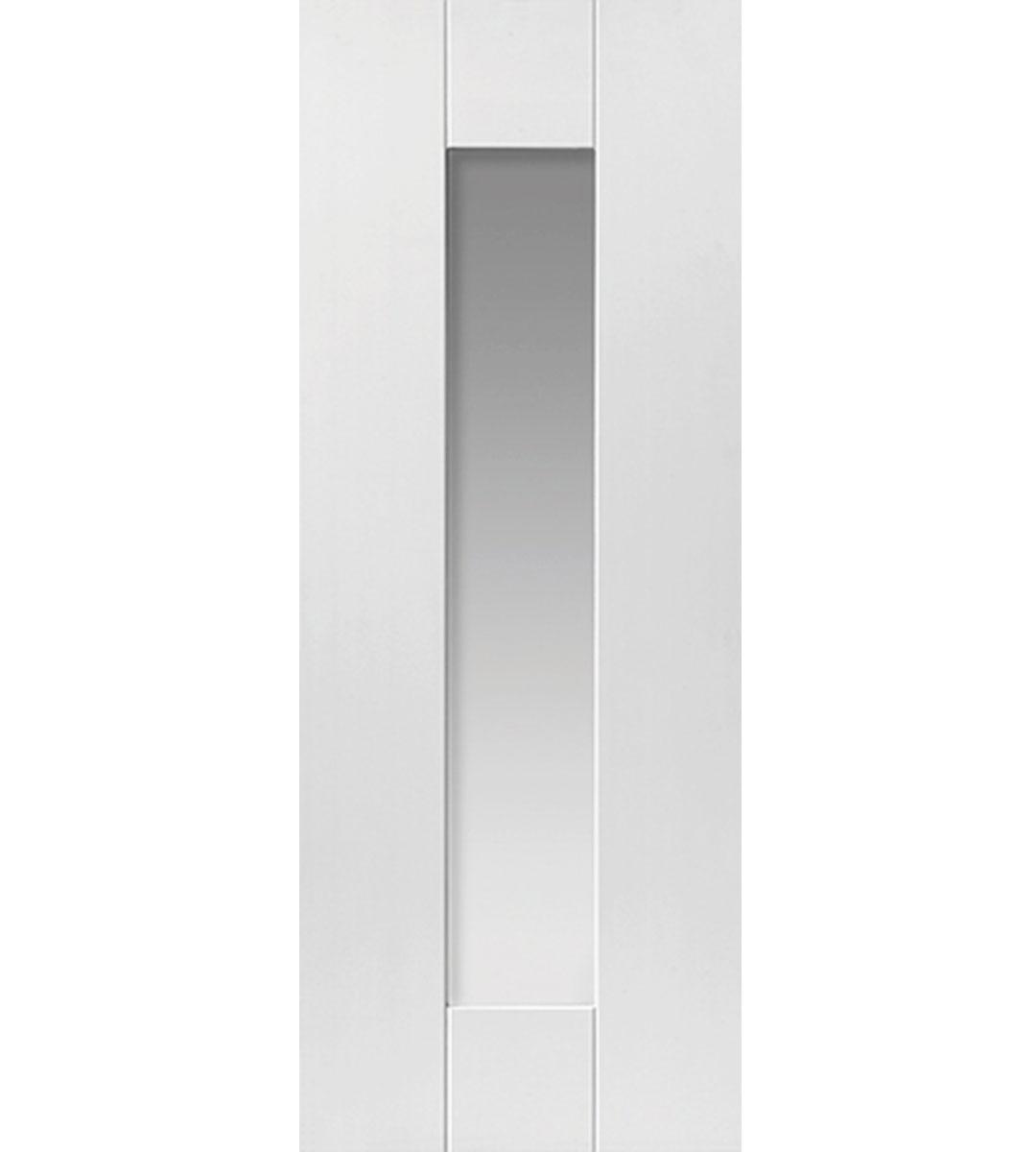 Axis Internal White Glazed Door
