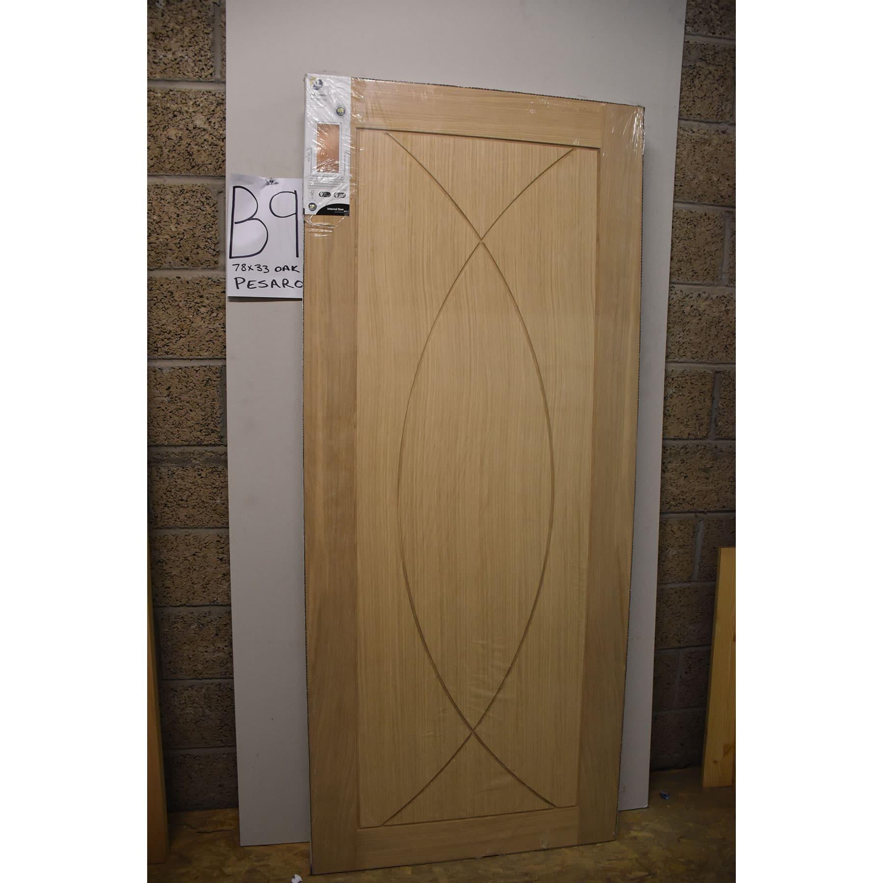Door B9 Xl Joinery Pesaro Internal Oak Door 78 X 33