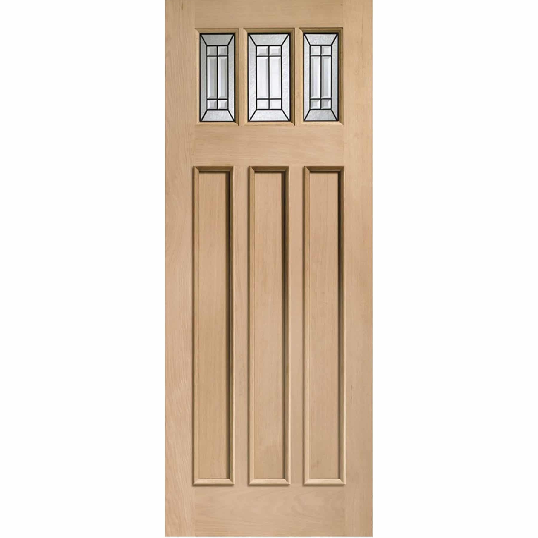XL Joinery Balmoral Jade Triple Glazed External Oak Door (Mu0026T) with Black Caming -  sc 1 st  Shawfield Doors & XL Joinery Balmoral Jade Triple Glazed External Oak Door (Mu0026T) with ...