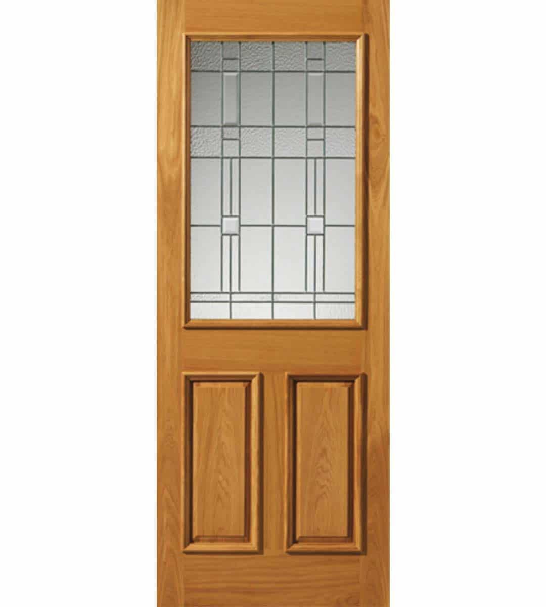 Burgundy External Door Shawfield Doors