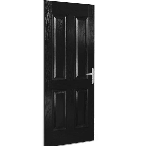 carsington black external doorset