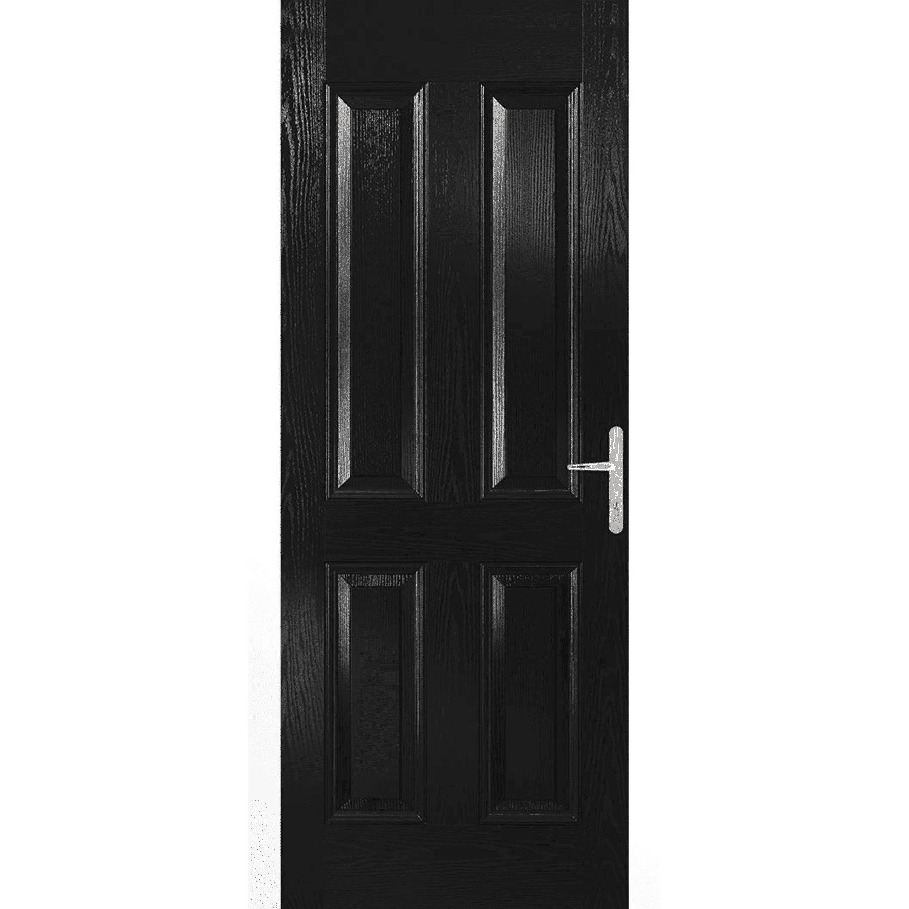 carsington black composite door set
