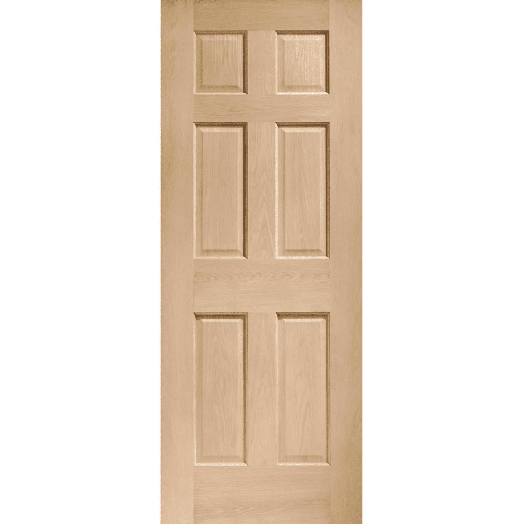 Colonial 6 Panel Internal Oak Door