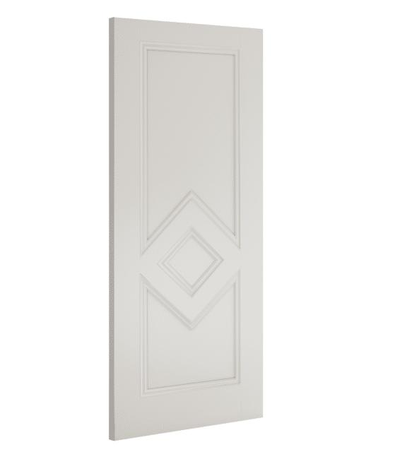deanta ascot interior white primed door