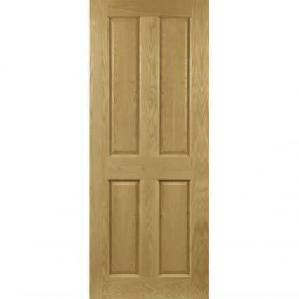 Deanta Bury Prefinished Oak Internal Door - 1981mm-x-610mm-x-35mm