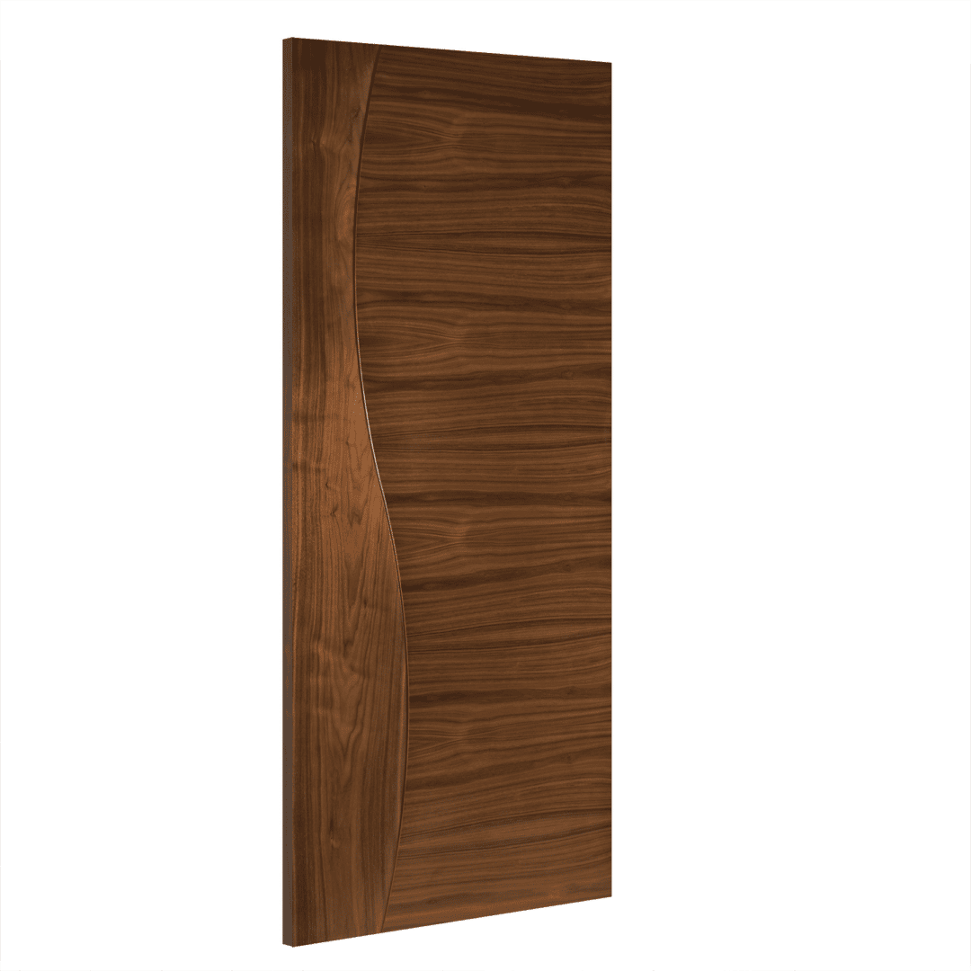 deanta cadiz interior walnut door
