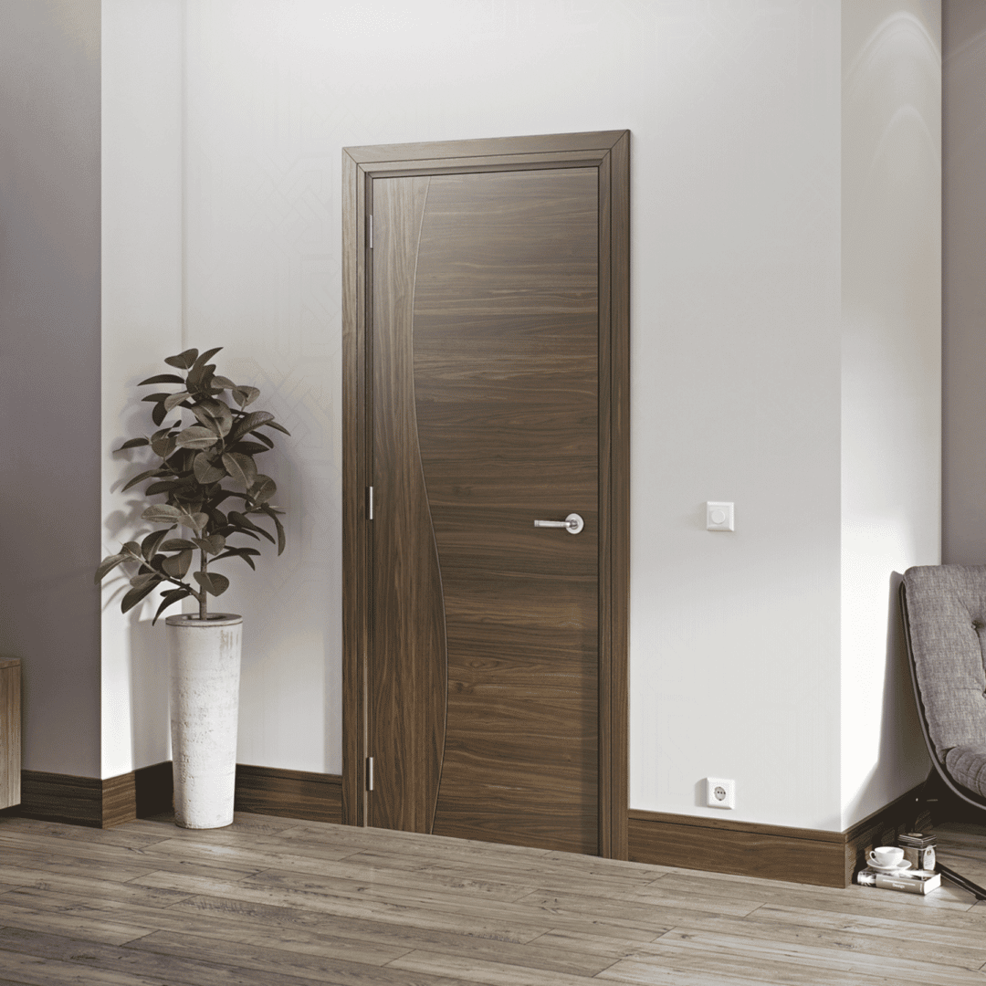 deanta cadiz internal walnut door