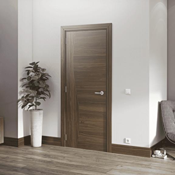 deanta cadiz internal walnut door