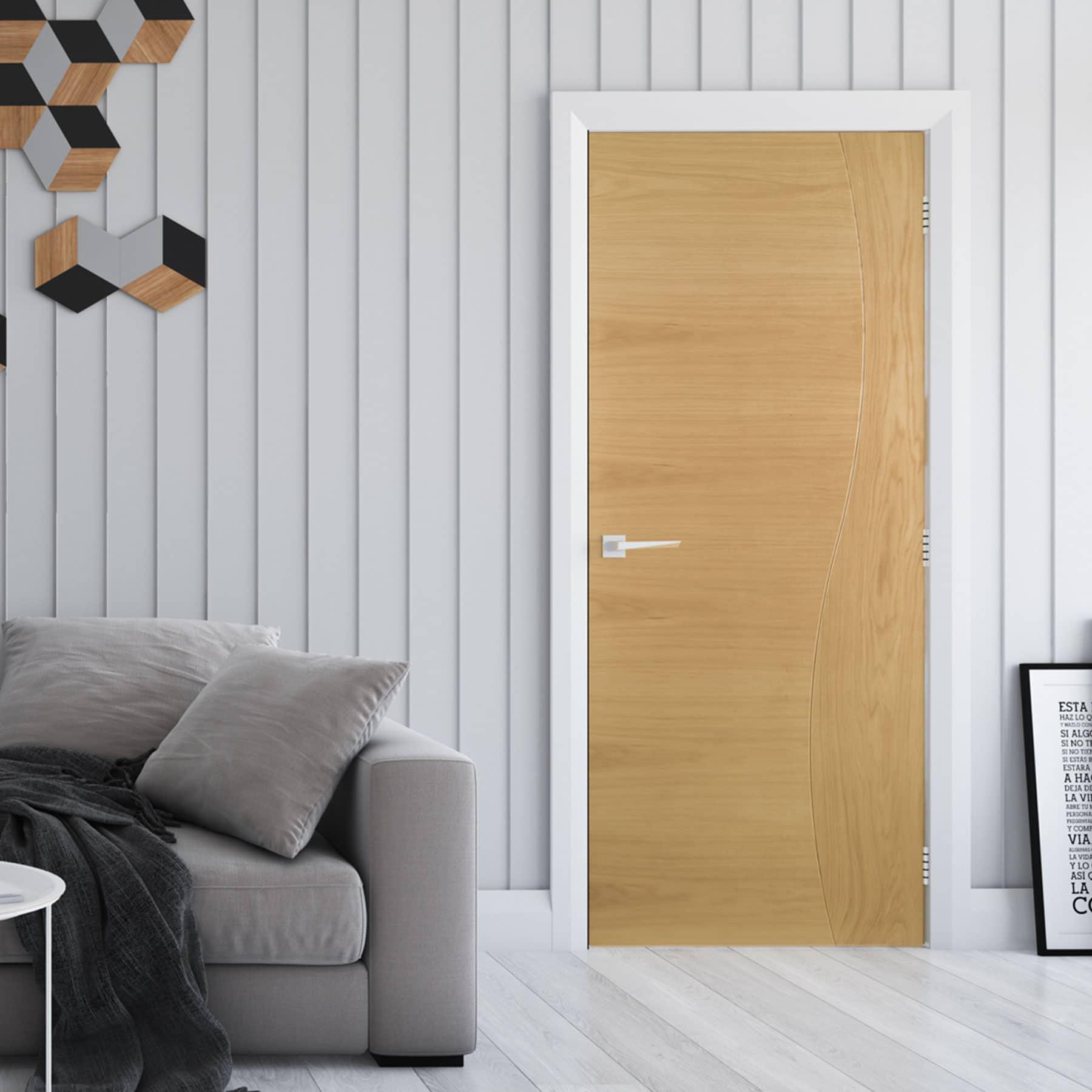 Deanta Cadiz Oak Internal Door Shawfield Doors